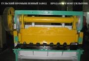 Капитальный ремонт гильотинных ножниц стд-9,  нк3418,  н3118,  н3121,  н47