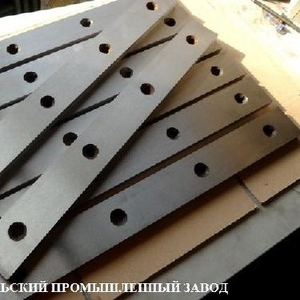 Ножи для гильотинных ножниц 510х60х20, 520х75х25, 540х60х16,  550х60х16