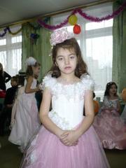 платье на выпускной в детсаду
